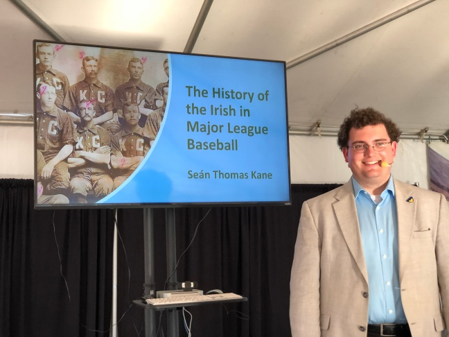 ST Kane 2018 Irish Fest talk