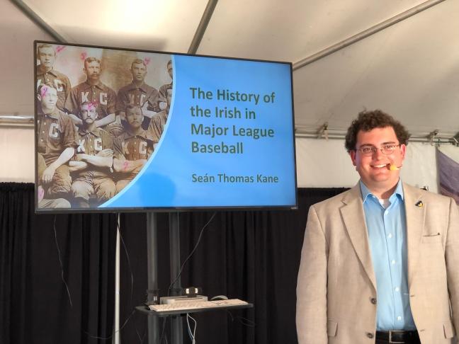 ST Kane 2018 Irish Fest talk